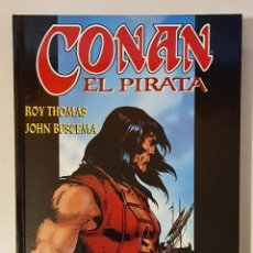 Comics: CONAN EL PIRATA Nº 1, 2, 3, 4 - (COMPLETA) - LIBRO CARTONE -. Lote 225056140
