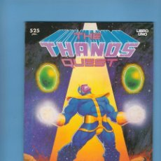 Cómics: THE THANOS QUEST - 2 TOMOS PRESTIGIO - LA SAGA ORIGINAL DE LAS GEMAS DEL INFINITO. Lote 225088197