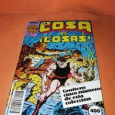Cómics: LA COSA. VS COSAS .RETAPADO Nº 11 AL 15 . FORUM.. Lote 225102040