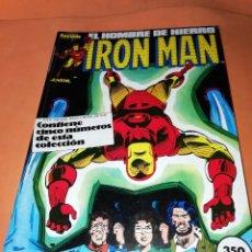 Cómics: IRON MAN . RETAPADO. NUMEROS 31 AL 35. FORUM. Lote 225106165
