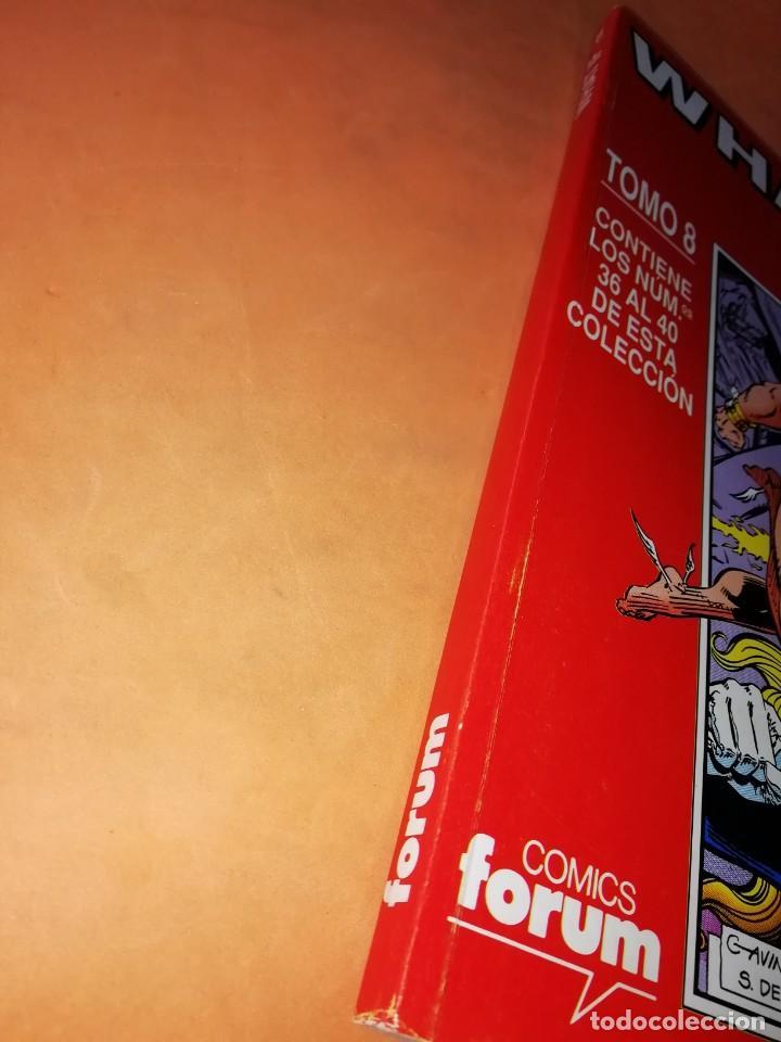 Cómics: WHAT IF . TOMO 8. NUMEROS 36 AL 40. RETAPADO. FORUM. - Foto 5 - 225112842