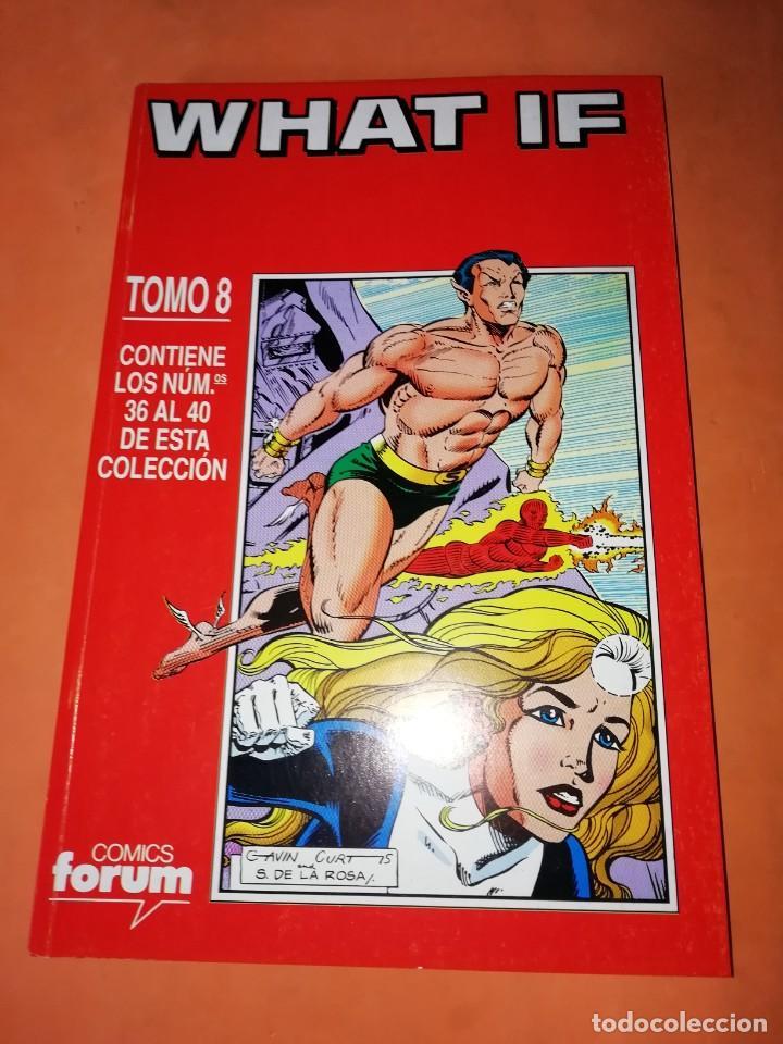 WHAT IF . TOMO 8. NUMEROS 36 AL 40. RETAPADO. FORUM. (Tebeos y Comics - Forum - Retapados)