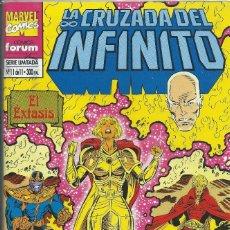 Cómics: LA CRUZADA DEL INFINITO Nº 11 FORUM. Lote 217552288