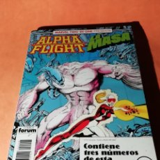 Cómics: ALPHA FLIGHT. LA MASA . MARVEL TWO IN ONE. Nº 48 Y 50 TOD MCFARLANE. RETAPADO. FORUM. Lote 225162125