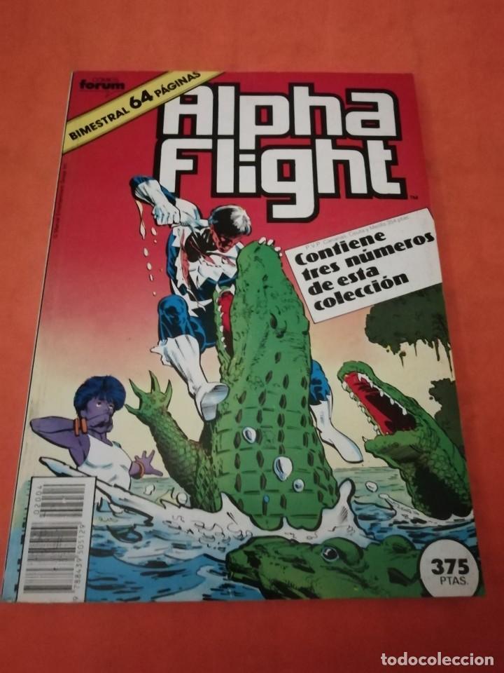 ALPHA FLIGHT. RETAPADO . FORUM. Nº 36 , 37, 38. (Tebeos y Comics - Forum - Alpha Flight)