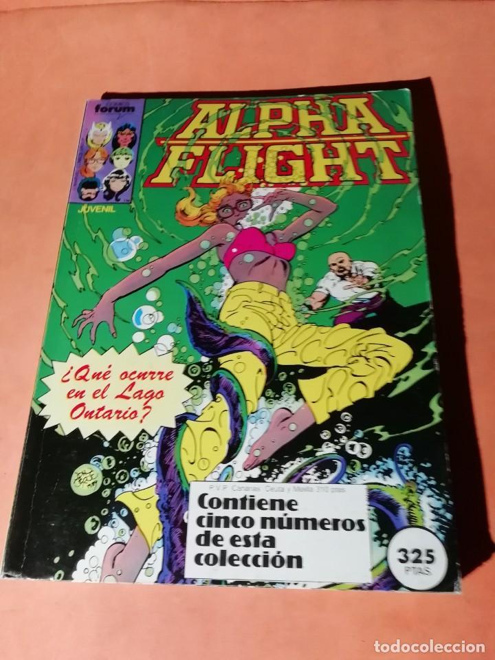ALPHA FLIGHT. RETAPADO . FORUM. Nº 11 AL 15 (Tebeos y Comics - Forum - Alpha Flight)