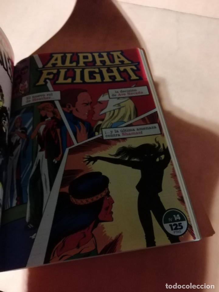 Cómics: ALPHA FLIGHT. RETAPADO . FORUM. Nº 11 AL 15 - Foto 6 - 225164940