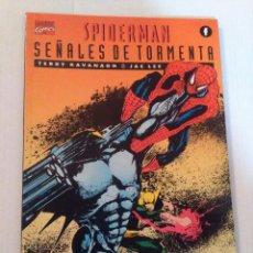Cómics: SPIDERMAN -SEÑALES DE TORMENTA- FORUM. Lote 225216750