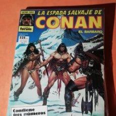 Cómics: LA ESPADA SALVAJE DE CONAN. RETAPADO. Nº 59,60 Y 61. FORUM.. Lote 225330240