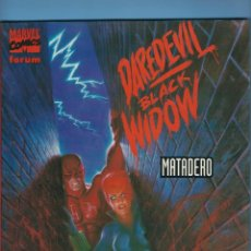 Cómics: DAREDEVIL / BLACK WIDOW - MATADERO - JIM STARLIN Y JOE CHIODO. Lote 225352600