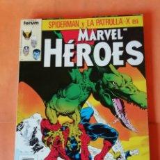 Cómics: MARVEL HEROES. RETAPADO. Nº 31 AL 35. FORUM. BUEN ESTADO.. Lote 225490560