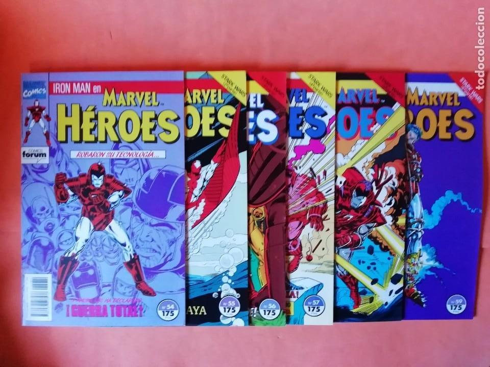 IRON MAN. STARK WARS. MARVEL HEROES Nº 54 AL 59. FORUM (Tebeos y Comics - Forum - Iron Man)