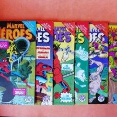 Cómics: SPIDERMAN. EL NIÑO QUE LLEVAS DENTRO. MARVEL HEROES. Nº 72 AL 77. FORUM.. Lote 225503270