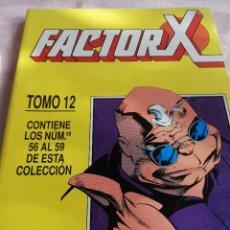 Cómics: FACTOR X - RETAPADO 12 - 56 AL 59 - FORUM. Lote 225510660