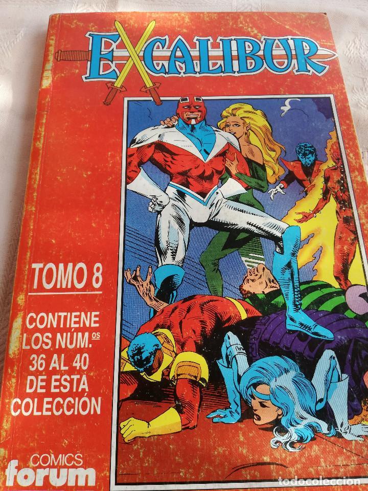 EXCALIBUR X - RETAPADO 8 - 36 AL 40 - FORUM (Tebeos y Comics - Forum - Retapados)