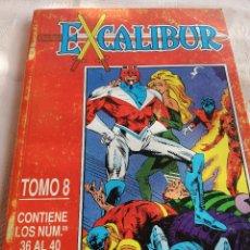 Cómics: EXCALIBUR X - RETAPADO 8 - 36 AL 40 - FORUM. Lote 225510715