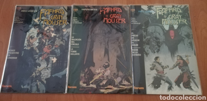 FAFHRD AND THE GRAY MOUSER (Tebeos y Comics - Forum - Prestiges y Tomos)