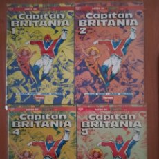 Cómics: CAPITÁN BRITANIA. Lote 225620065