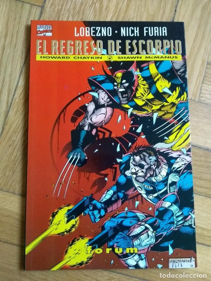 COLECCIÓN PRESTIGIO Nº 12 - LOBEZNO - NICK FURIA: EL REGRESO DE ESCORPIO - EXCELENTE ESTADO! - D2 (Tebeos y Comics - Forum - Furia)