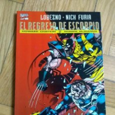 Cómics: COLECCIÓN PRESTIGIO Nº 12 - LOBEZNO - NICK FURIA: EL REGRESO DE ESCORPIO - EXCELENTE ESTADO! - D2. Lote 225707155