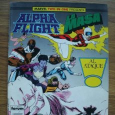 Comics : ALPHA FLIGHT VOL. 1 Nº 42 MARVEL TWO-IN-ONE CON LA MASA (FORUM). Lote 225715912