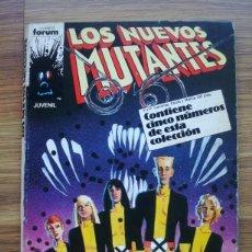 Comics : LOS NUEVOS MUTANTES Nº 21 AL 25 (21, 22, 23, 24, 25) FORUM. Lote 225722350
