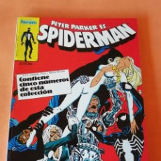 Cómics: SPIDERMAN . RETAPADO. Nº 121 AL 125. FORUM.. Lote 225725618