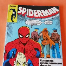 Cómics: SPIDERMAN . RETAPADO. Nº 141 AL 145. FORUM.. Lote 225728621