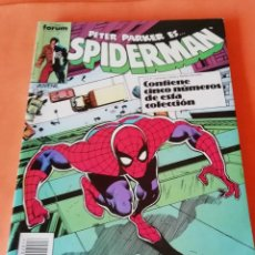 Cómics: SPIDERMAN . RETAPADO. Nº 161 AL 165. FORUM.. Lote 225732570