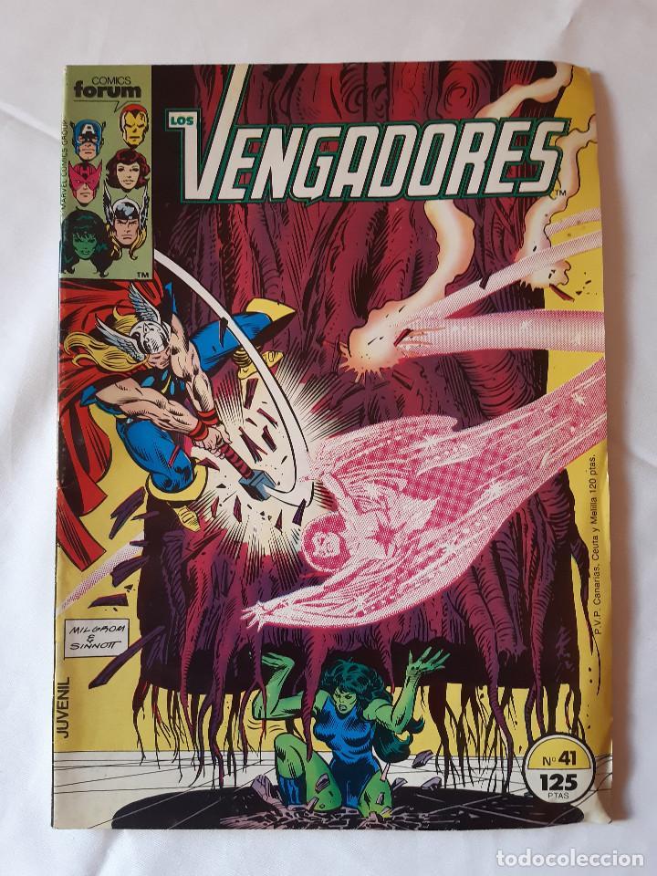 COMIC LOS VENGADORES NUMERO 41. FORUM. (Tebeos y Comics - Forum - Vengadores)