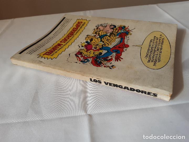 Cómics: COMIC LOS VENGADORES TOMO CON 5 NUMEROS 11, 12, 13, 14 Y 15. - Foto 3 - 225747375