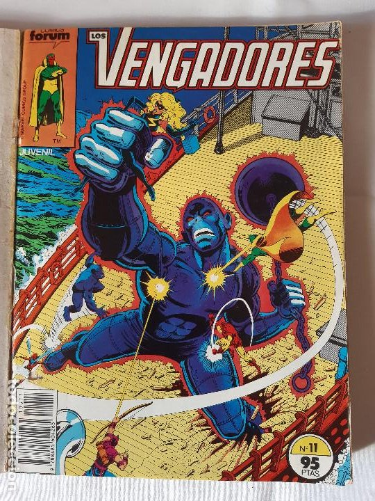 Cómics: COMIC LOS VENGADORES TOMO CON 5 NUMEROS 11, 12, 13, 14 Y 15. - Foto 4 - 225747375