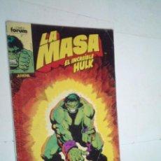 Comics: LA MASA - EL INCREIBLE HULK - NUMERO 47 - FORUM - NORMAL ESTADO -GORBAUD -CJ 124. Lote 225750225