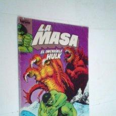 Cómics: LA MASA - EL INCREIBLE HULK - NUMERO 40 - FORUM - NORMAL ESTADO -GORBAUD -CJ 124. Lote 225750418