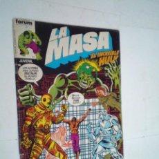 Cómics: LA MASA - EL INCREIBLE HULK - NUMERO 15 - FORUM - NORMAL ESTADO -GORBAUD -CJ 124. Lote 225750836