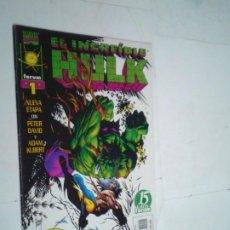 Cómics: EL INCREIBLE HULK - VOLUMEN III - NUMERO 1 - FORUM - BUEN ESTADO -GORBAUD -CJ 124. Lote 225752700
