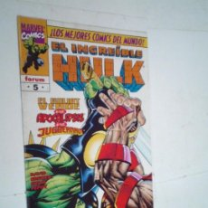Cómics: EL INCREIBLE HULK - VOLUMEN III - NUMERO 5 - FORUM - BUEN ESTADO -GORBAUD -CJ 124. Lote 225753080