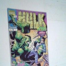 Cómics: EL INCREIBLE HULK - VOLUMEN IV - NUMERO 1 - FORUM - BUEN ESTADO -GORBAUD -CJ 124. Lote 225755145