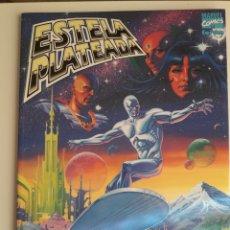Cómics: ESTELA PLATEADA. REGRESO AL HOGAR. NOVELA GRÁFICA 16. (STARLIN/ REINHOLD). IMPECABLE. Lote 225755240