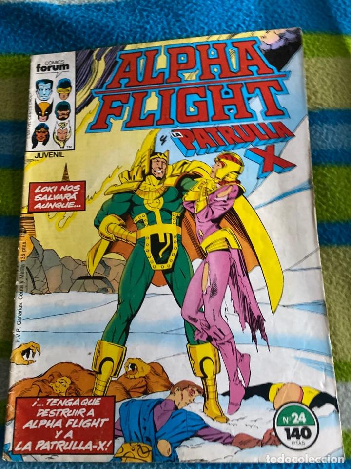 ALPHA FLIGHT NÚMERO 24 (Tebeos y Comics - Forum - Alpha Flight)