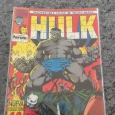 Cómics: FORUM LOS HULK & IRON MAN NUMERO 1 NORMAL ESTADO. Lote 225827085