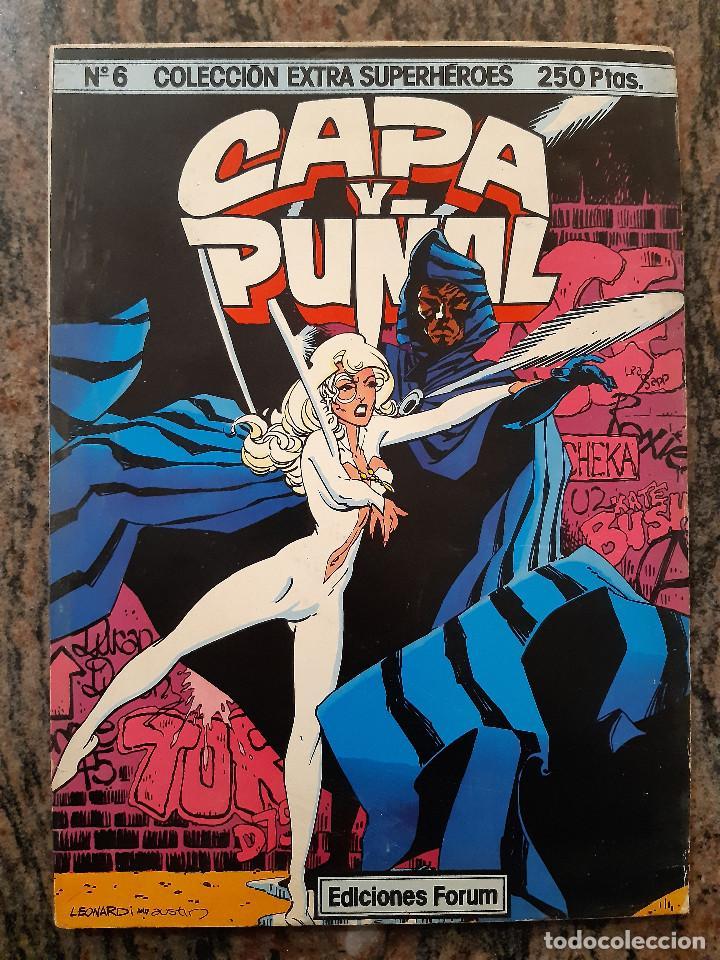COLECCION EXTRA SUPERHEROES NUMERO 6. CAPA Y PUÑAL. EDICIONES FORUM. (Tebeos y Comics - Forum - Otros Forum)