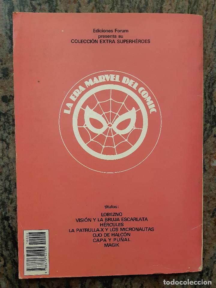 Cómics: COLECCION EXTRA SUPERHEROES NUMERO 6. CAPA Y PUÑAL. EDICIONES FORUM. - Foto 2 - 225866780