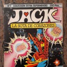 Cómics: COLECCION EXTRA SUPERHEROES NUMERO 7. JACK LA SOTA DE CORAZONES. EDICIONES FORUM.. Lote 225867520