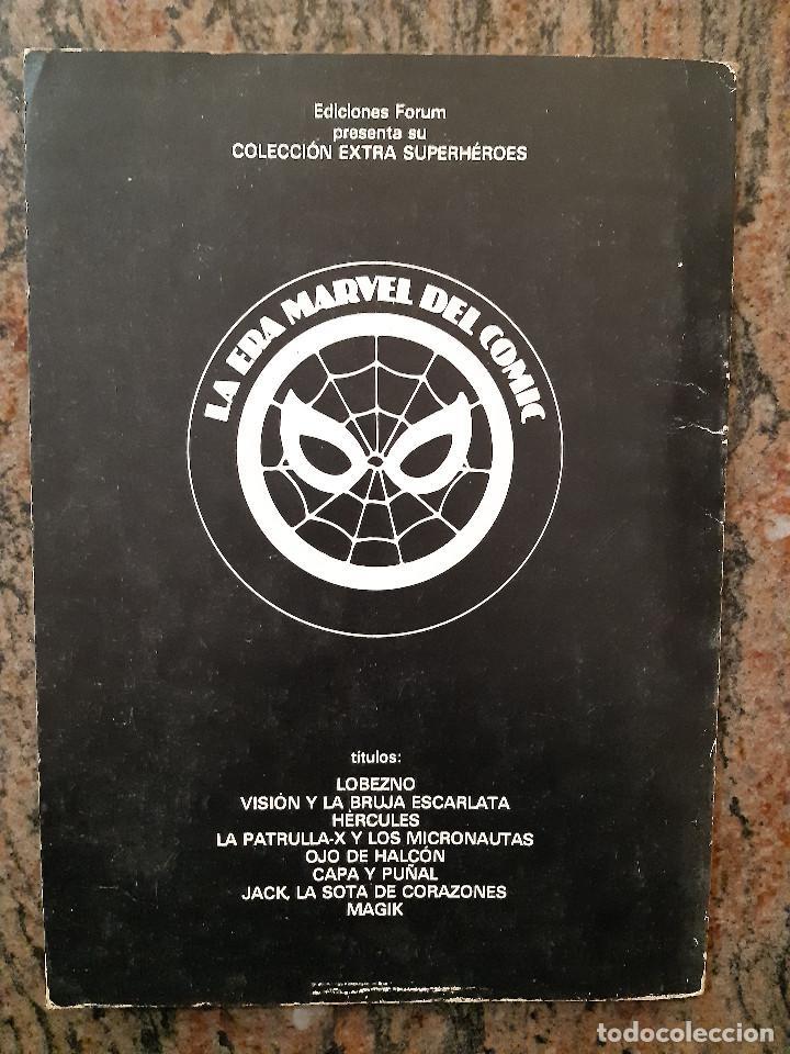 Cómics: COLECCION EXTRA SUPERHEROES NUMERO 7. JACK LA SOTA DE CORAZONES. EDICIONES FORUM. - Foto 2 - 225867520