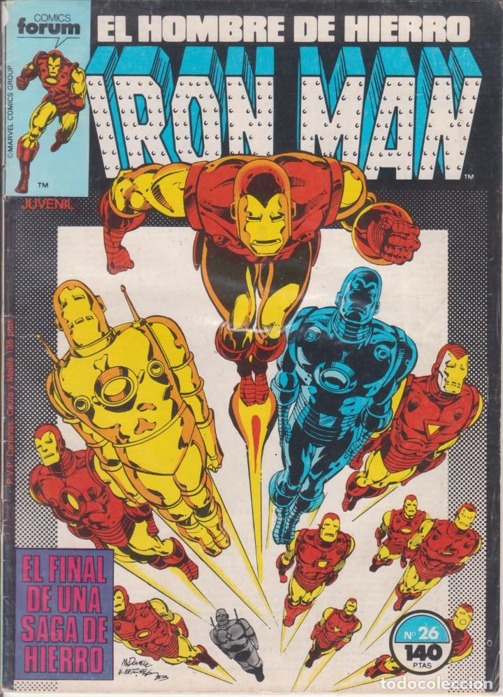 "COMIC MARVEL "" IRON MAN "" Nº 26 VOL.1 ED. PLANETA / FORUM (Tebeos y Comics - Forum - Otros Forum)"