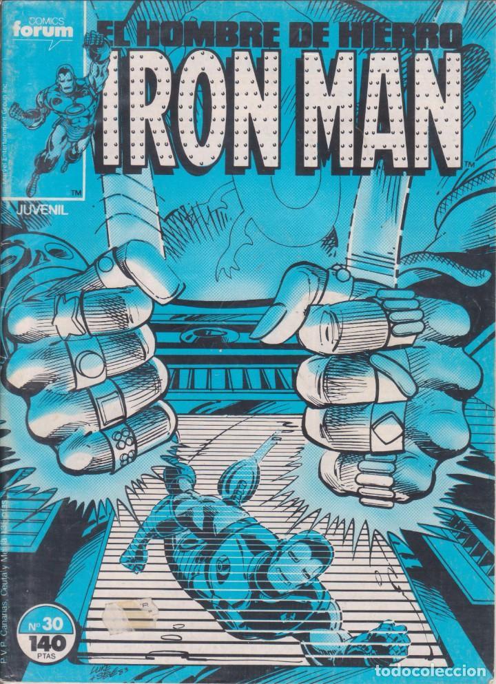 "COMIC MARVEL "" IRON MAN "" Nº 30 VOL.1 ED. PLANETA / FORUM (Tebeos y Comics - Forum - Otros Forum)"