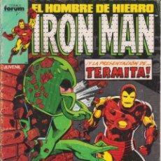 "Cómics: COMIC MARVEL "" IRON MAN "" Nº 38 VOL.1 ED. PLANETA / FORUM. Lote 225903095"