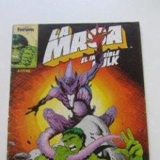 Comics: LA MASA EL INCREÍBLE HULK N.º 49 VOL 1 1986 FORUM MUCHOS EN VENTA MIRA TUS FALTAS ARX20. Lote 225967618