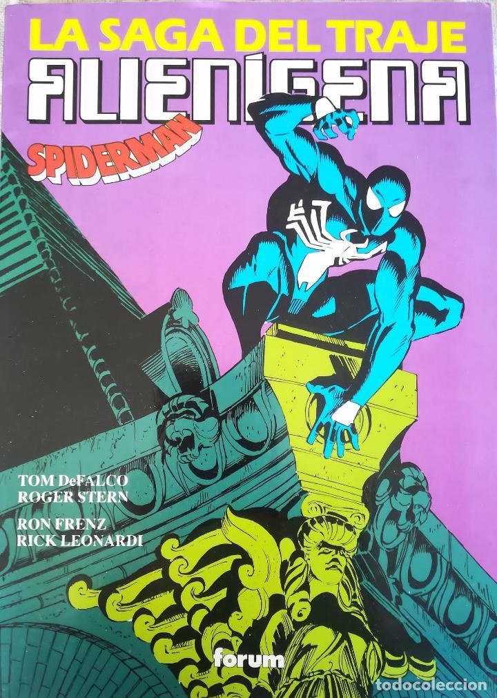 LA SAGA DEL TRAJE ALIENIGENA SPIDERMAN (Tebeos y Comics - Forum - Prestiges y Tomos)